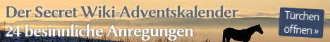 Der Secret Wiki-Adventskalender